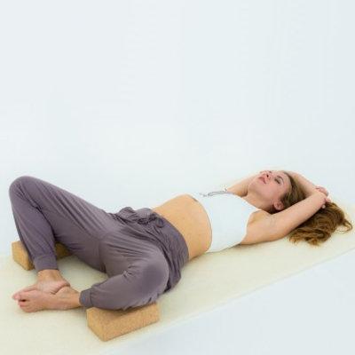 Tapis de yoga en laine